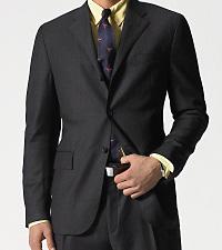Suit Leather Jacket - Jacket