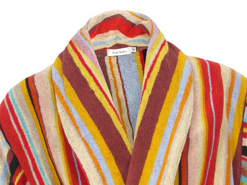 paul smith multi stripe bathrobe definitive touch men 39 s contemporary style. Black Bedroom Furniture Sets. Home Design Ideas