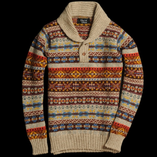 Howlin by Morrison Fair Isle Sweaters | Definitive Touch - Men's ...