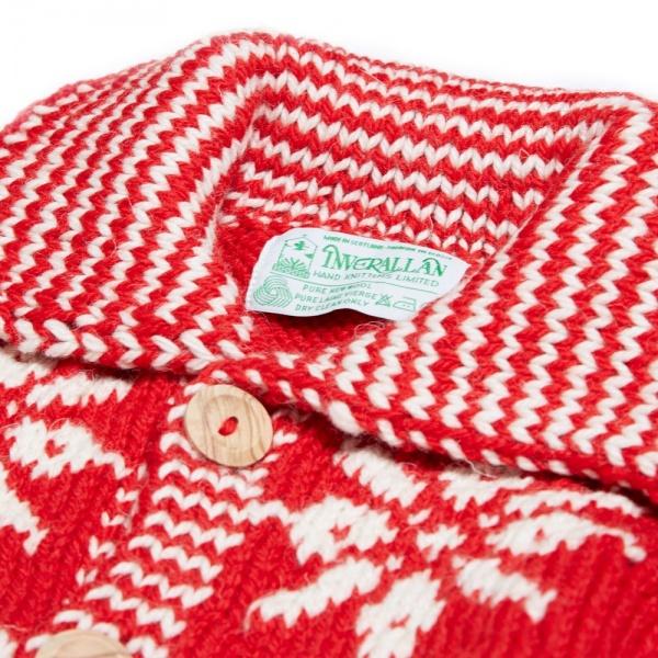 Inverallan 30E Swedish Lumber Snowflake Cardigan 1