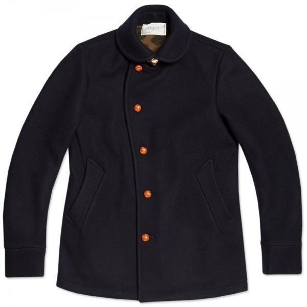 Edifice Melton Shawl Collar Coat