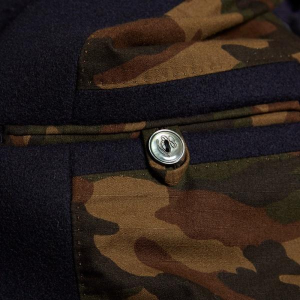 Edifice Melton Shawl Collar Coat 1