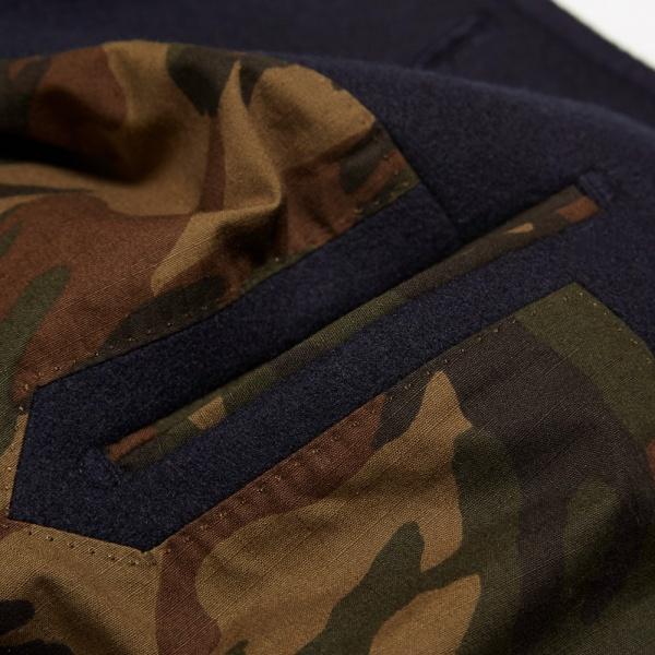 Edifice Melton Shawl Collar Coat 3