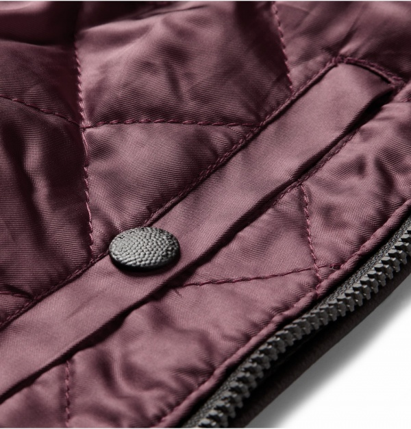 Rag & Bone Quilted Leather Bomber Jacket