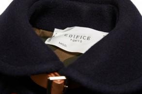 Edifice Melton Shawl Collar Coat 2